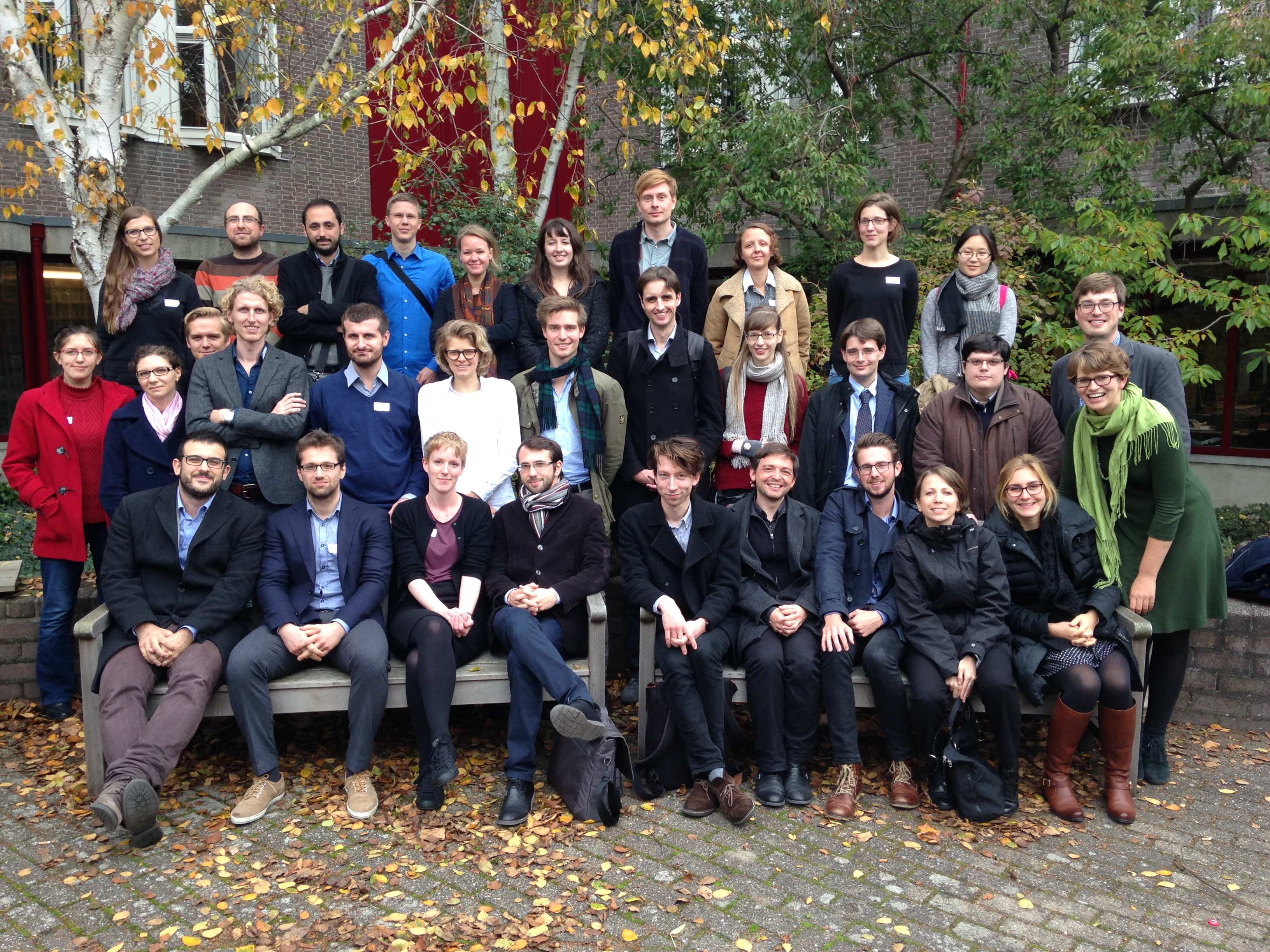 Participants of the PHPN Workshop 2015 – 22 & 23 October 2015, Leiden University, the Netherlands